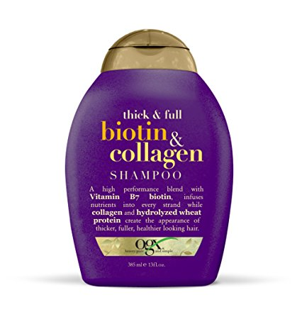 OGX Shampoo, Thick & Full Biotin & Collagen, 13oz