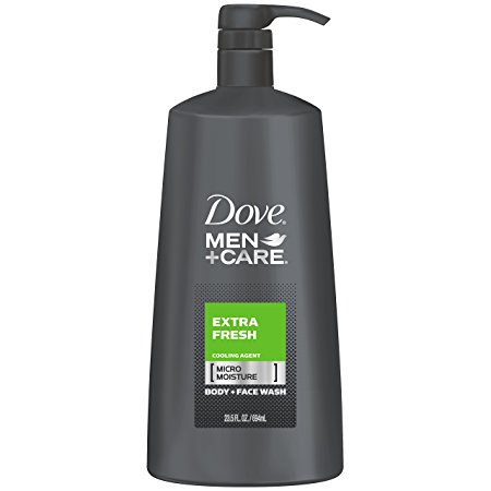 Dove Men+Care Body Wash, Extra Fresh 23.5 oz