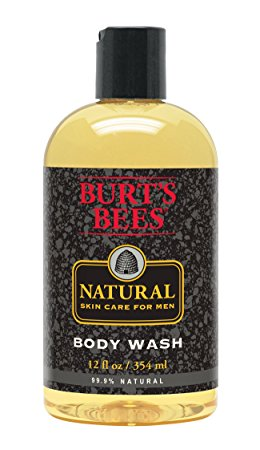 Burt's Bees Natural Skin Care for Men Body Wash, 12 Fluid Ounces