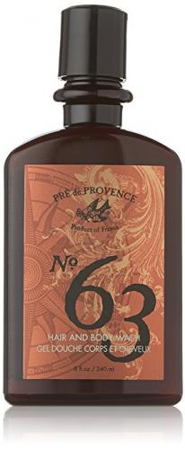 Pre de Provence Aromatic, Warm and Spicy, No. 63 Men's Shower Gel