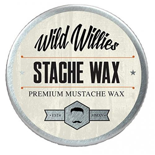 Wild Willie's Mustache Wax Original - The Only Hard Wax with 7 Natural Organic Ingredients