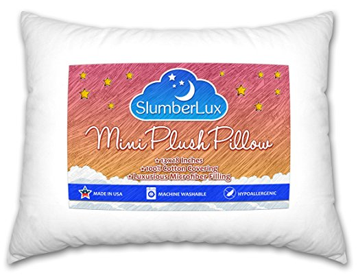 SlumberLux Toddler Pillow (13 x 18)
