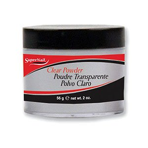 Supernail Nail Powder, Clear, 2 Ounce