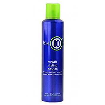 It's a 10 Miracle Styling Mousse for Unisex, 9 Ounce