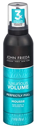 John Frieda Collection Luxurious Volume Perfectly Full Mousse 7.50 oz