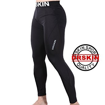 [DRSKIN] DABB11 Tight Compression Pants Base Layer Running Pants Men Women (S)