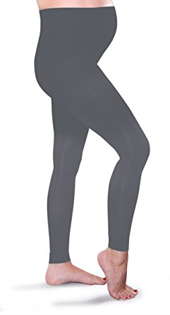 Preggers Maternity Leggings - Coal-Small