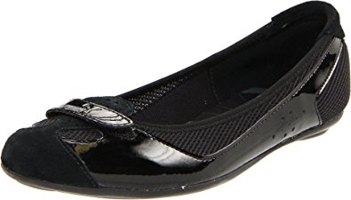 Puma Women's Zandy Casual Shoe,Black Patent,8.5 B US