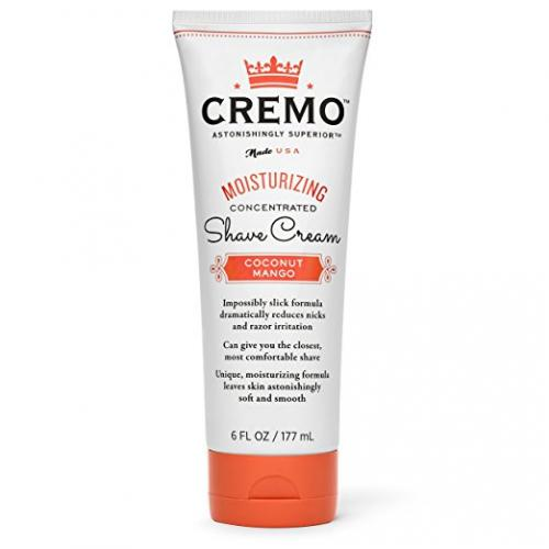 Cremo Moisturizing Shave Cream, Astonishingly Superior Shaving Cream for Women, Coconut Mango, 6 Fluid Ounce
